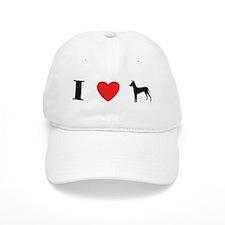 I Heart Xoloitzcuintli Baseball Cap