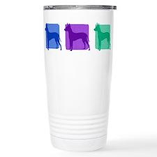 Color Row Xoloitzcuintli Thermos Mug