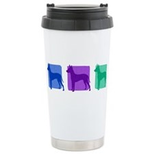 Color Row Xoloitzcuintli Travel Mug