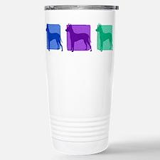 Color Row Xoloitzcuintli Travel Mug