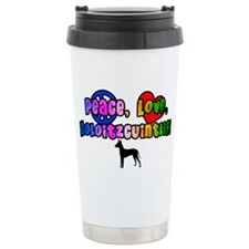 Hippie Xoloitzcuintli Travel Mug