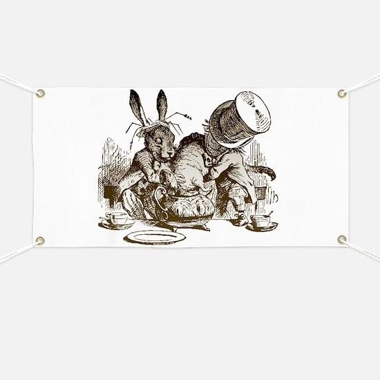 White Rabbit, Mad Hatter Banner