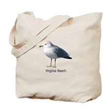 Virginia Beach Gull Tote Bag