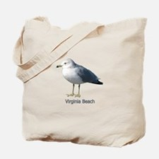 Virginia Beach Gull Tote Bag