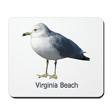 Virginia Beach Gull Mousepad