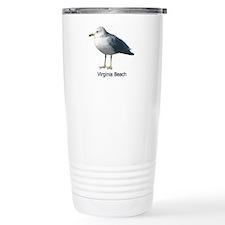 Virginia Beach Gull Travel Mug