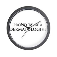 Proud Dermatologist Wall Clock