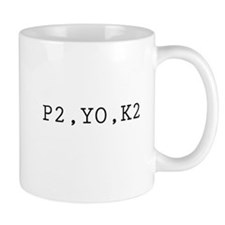 P2,YO,K2 (Knitting) Mug