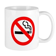 No Smoking Small Mug