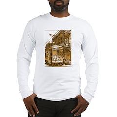 New Orleans Streetcar Named D Long Sleeve T-Shirt