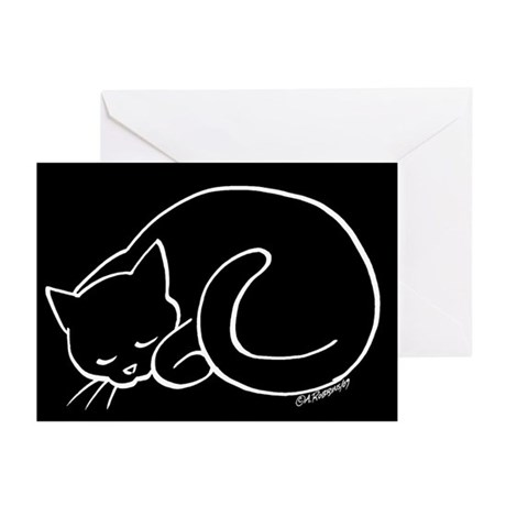 Sleeping Cat Greeting Cards (Pk of 10)