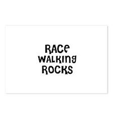 RACE WALKING ROCKS Postcards (Package of 8)