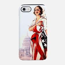 flag-nurse2.png iPhone 7 Tough Case