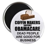 "NOBamaCare - Anti Obama Healt 2.25"" Magnet (1"