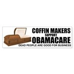 NOBamaCare - Anti Obama Healt Sticker (Bumper 10 p