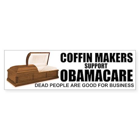 NOBamaCare - Anti Obama Healt Bumper Sticker