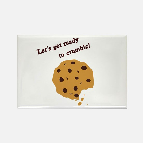 Funny Chocolate Chip Cookie Rectangle Magnet