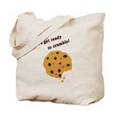 Funny Chocolate Chip Cookie Tote Bag