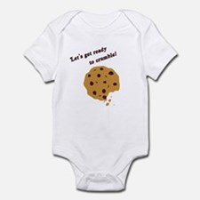 Funny Chocolate Chip Cookie Infant Bodysuit