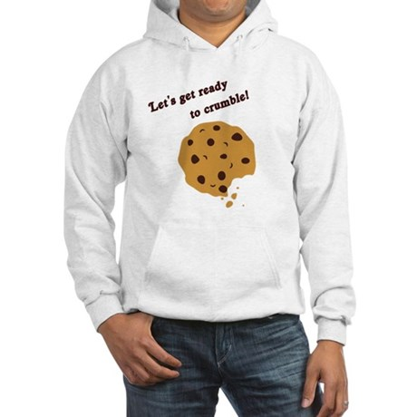 Funny Chocolate Chip Cookie Hooded Sweatshirt