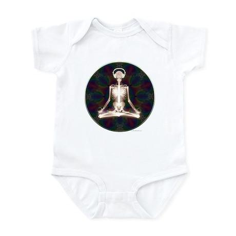 Skeleton Yoga Infant Bodysuit