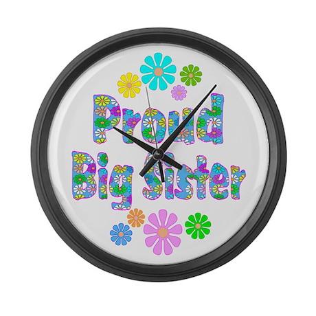 Big Sister Large Wall Clock