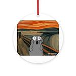 Snooch scream Ornament (Round)