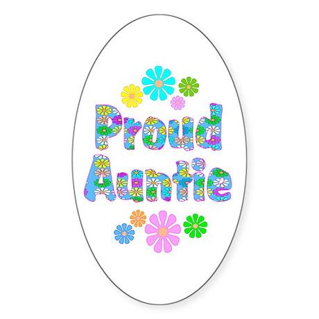Auntie Oval Sticker (10 pk)