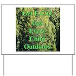 Get ECO Green Yard Sign