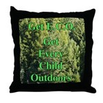 Get ECO Green Throw Pillow