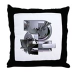 Heavy Metal 2 Throw Pillow