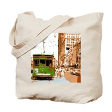 New Orleans Streetcar Named D Tote Bag