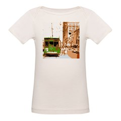 New Orleans Streetcar Named D Organic Baby T-Shirt