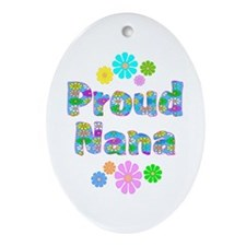 Nana Oval Ornament