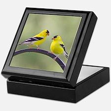 Goldfinches Keepsake Box