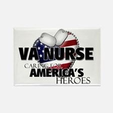 VA Nurse - Caring for America Rectangle Magnet