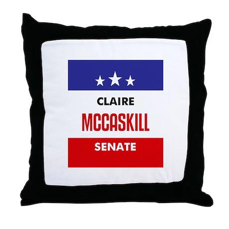McCaskill 06 Throw Pillow