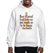 Beer is Proof Hoodie