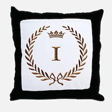 Napoleon gold number 1 Throw Pillow