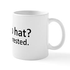 No Top Hat? Mug