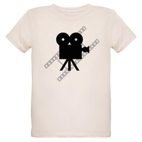 Hollywood Film Camera Organic Kids T-Shirt