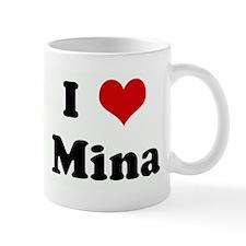 I Love Mina Mug