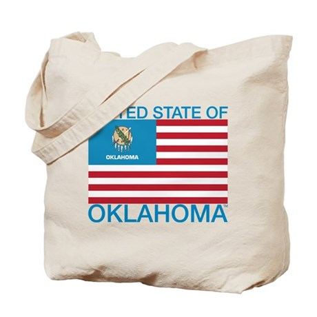 United State of Oklahoma Tote Bag