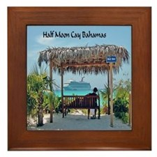 Half Moon Cay Framed Tile