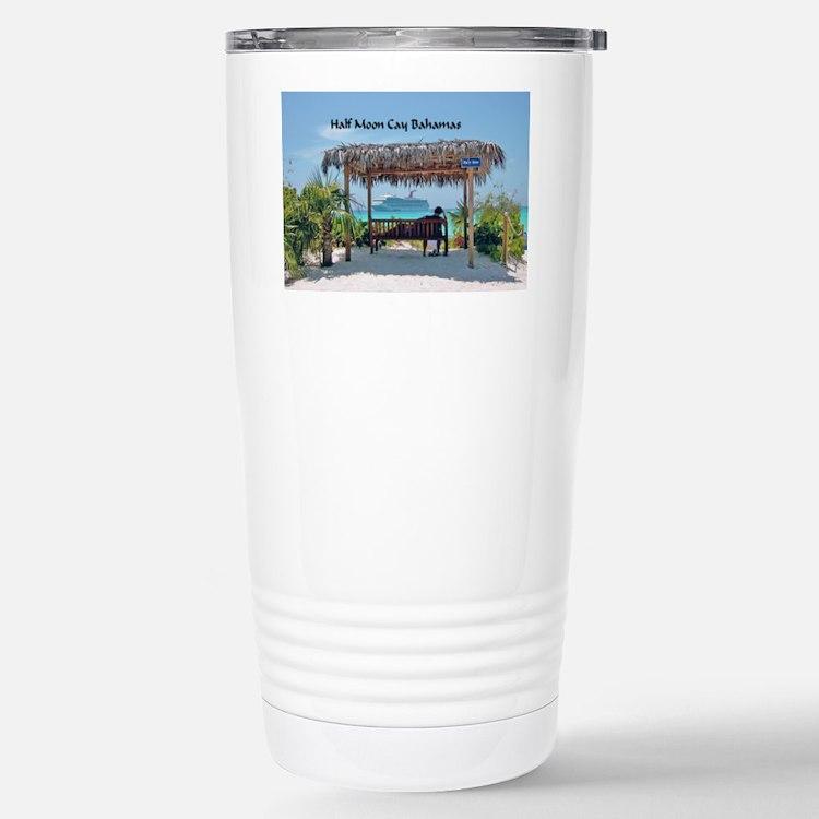 Half Moon Cay Travel Mug