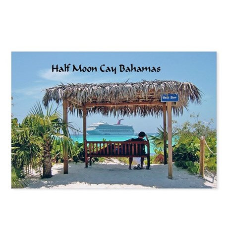 Half Moon Cay Postcards (Package of 8)