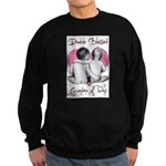 grandma of twins Sweatshirt (dark)