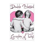 grandma of twins Mini Poster Print