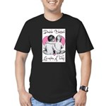 grandma of twins Men's Fitted T-Shirt (dark)