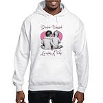 grandma of twins Hooded Sweatshirt